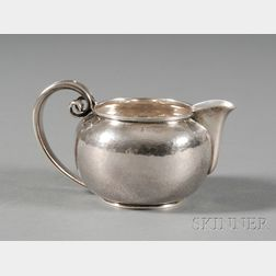 Danish Modernist Sterling Creamer