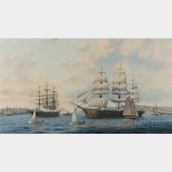 William E. Baldwin (Belfast, Maine, 20th Century)      Glory Meets Sovereign-1872.