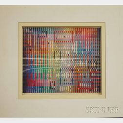 Yaacov Agam (Israeli, b. 1928)      Magic Rainbow