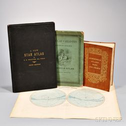 Three Titles on Astronomy and a Plate