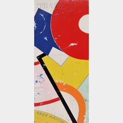 Knox Martin (American, b. 1923)      Study in Color