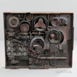 Denis G. Barrington (British, 1930-1999) Sculpture