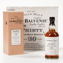 Balvenie Thirty 30 Years Old, 3 750ml bottles (owc)