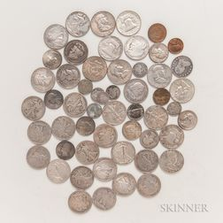 Group of American Mostly Silver Coins