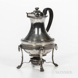 George III Sterling Silver Hot Water Jug