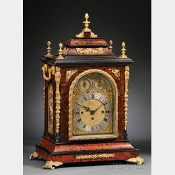Victorian Quarter-Chiming Table Clock by Adams
