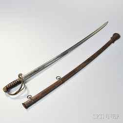 Model 1833 Dragoon Saber and Scabbard