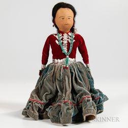 Navajo Cloth Doll