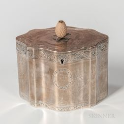 George III Sterling Silver Tea Canister