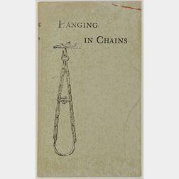 R.B. Kitaj (American, b. 1932)  Hanging in Chains.