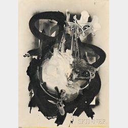 Ladislas Pierre Kijno (French, 1921-2012)      Untitled