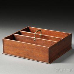 Mahogany Cutlery Box
