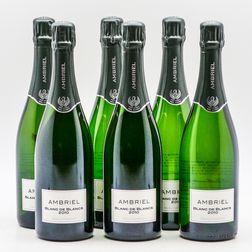 Ambriel Blanc de Blancs 2010, 6 bottles (oc)