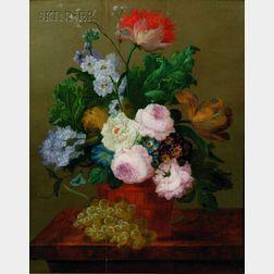 Flemish School, 17th/18th Century      Floral Still Life