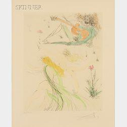 Salvador Dalí (Spanish, 1904-1989)      La Joie de vivre