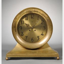 Commodore Ship's Bell Clock by Chelsea