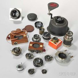 Carl Zeiss Jena Protar and Several Other Lenses