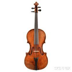 German Violin, Karl Herrmann, Markneukirchen, c. 1920