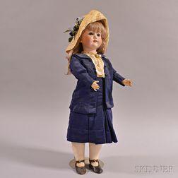C.M. Bergmann/Simon & Halbig Bisque Head Doll