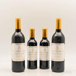 Chateau Pichon Lalande 2015, 2 bottles2 demi bottles