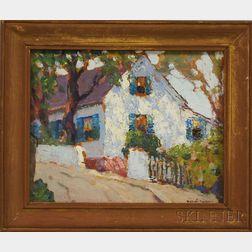 Hobart Nichols Jr. (American, 1869-1962)      A Gloucester House