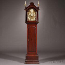 Benjamin Willard Cherry Tall Clock