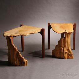 Two Studio Furniture End Tables