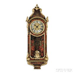 Neo-classical Boulle Wall Clock