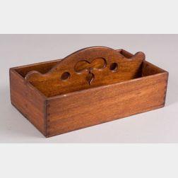 Walnut Knife Box