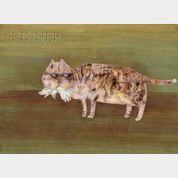 Fumiko Hori (Japanese, b. 1918)      Cat