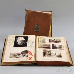 Photographic Journals from European Tour, 1875 and 1877.