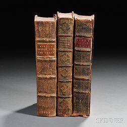[Society of Friends, Controversial Literature, Three Volumes] Wyeth, Joseph (1663-1731) Anguis Flagellatus.