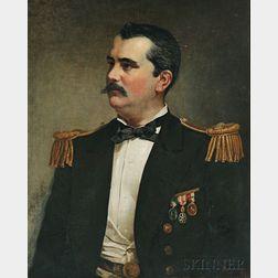 Jacob Hart Lazarus (American, 1822-1891)      Two Portraits: Edmonia T. Phelps Mason