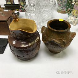 Two Pottery Items