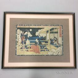 Utagawa Kunisada (Toyokuni III, 1786-1865), Hana no en