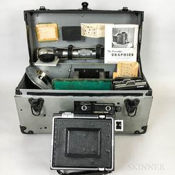 "Cased ""Pacemaker Graphics"" Camera.     Estimate $200-300"
