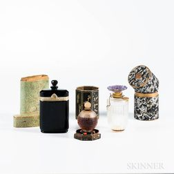 Three Vintage Glass Perfumes