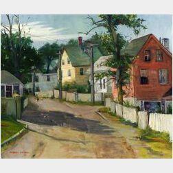 Frances Mordecai (American, 20th Century)  Rockport