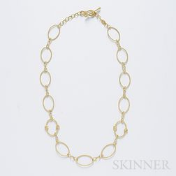 18kt Gold and Diamond Necklace, Judith Ripka