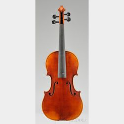Modern Violin, Probably Wenzel Fuchs Workshop