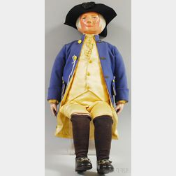 Martha Chase George Washington Cloth Doll