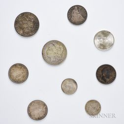 Small Group of American Coins