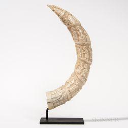 Luango Figurative Carving