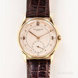 Patek Philippe 18kt Gold Manual-wind Wristwatch
