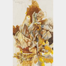 Pavel Tchelitchew (Russian/American, 1898-1957)      Autumn Leaves