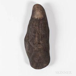 New Guinea Stone Adze Blade