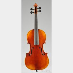 Modern Violin, Probably Wenzel Fuchs Workshop, c. 1970