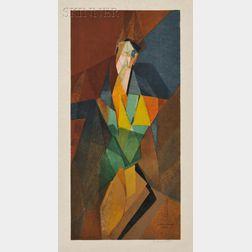 After Jacques Villon (French, 1875-1963)      Femme Cubiste