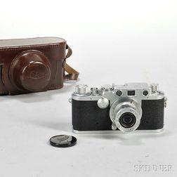 Leica IIIf with Elmar Lens