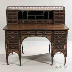 Japonesque Painted Desk